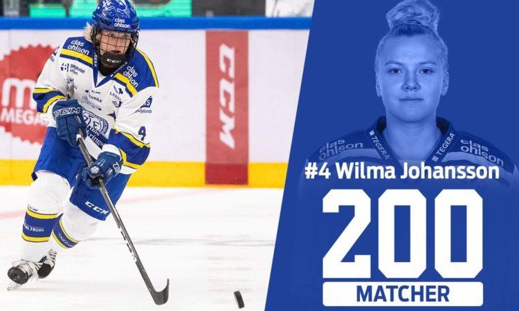 Leksands IF - Ceremoni - Wilma Johansson